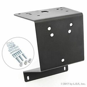 Jeep Wrangler 87 95 97 06 Tire Carrier Mount Large Tire Heavy Duty Black Texture