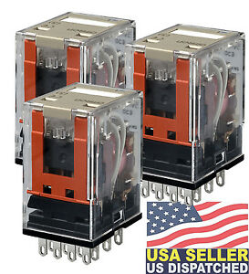 Omron Industrial Automation My2 Ac110 120 s Power Relay My Series