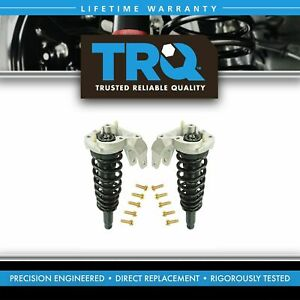 Trq Loaded Quick Complete Strut Spring Mount Assembly Pair 2pc Front New Awd