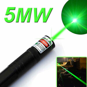 Military 30 Miles High Power Green Laser Pointer Pen Visible Beam New From Usa