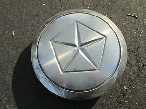 One 1987 1988 Lebaron Voyager New Yorker Center Cap For Wire Spoke Hubcap