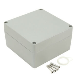 160mmx160mmx90mm Aluminum Junction Box Universal Electric Enclosure
