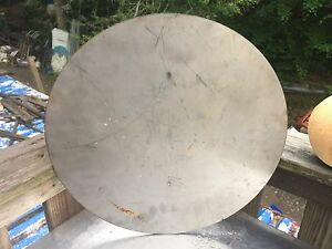 1 pc 1 8 Inch X 181 2 Inch Round disc Plate 304 Stainless Steel 10 Lbs