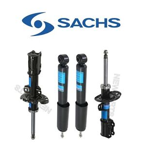 For Saab 9 3 Set Of 2 Front Strut Assies 2 Rare Shock Absorbers Kit Sachs Oem