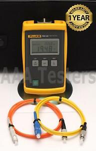 Fluke Fm130 Sm Mm Fiber Optic Power Meter Fm 130 Fm 130