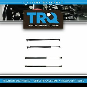 4 Piece Rear Hatch Liftglass Lift Support Kit For Jeep Grand Cherokee New