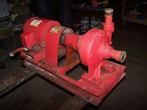 Bell Gosett 5 Hp Centrifugal Water Pump 1 1 2 X 1 1 4 3450 Rpm 208 230 460v