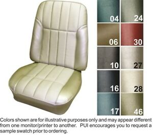 1968 Pontiac Firebird Deluxe Front Rear Seat Covers Pui