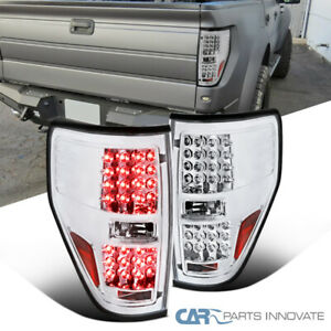 09 14 Ford F150 F 150 Pickup Clear Led Tail Lights Rear Brake Lamps Left Right