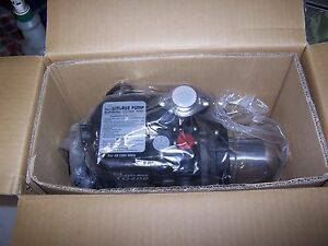 New Walrus 1 Water Supply Pressure Booster Pump 1 2 Hp 115 Vac 3420 Rpm 1