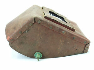 Vintage Welding Mask Shield Hood Helmet Cardboard Great Decoration Steampunk 24