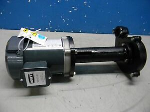 Amt Cast Iron Immersion Machine Tool And Recirculating Pump 230 460v 1 3hp 3ph