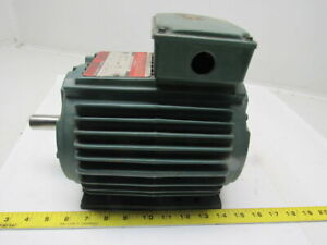 Reliance Electric P14g7500n ke 1 2hp 3ph 230 460v 1725rpm Electric Motor