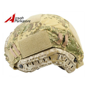 Emerson Military Helmet Cover for Ops-Core Fast Helmet Ballistic Badland Camo
