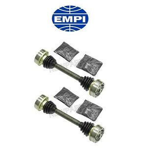 For Porsche 911 912 Pair Set Of 2 Rear Cv Axle Shafts Usa Industries Empi