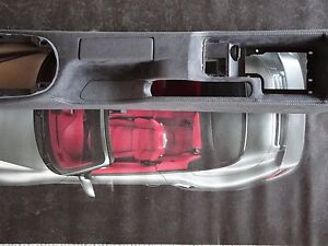 Porsche 997 C4 Gt 3 Rs Turbo S Gt2 Alcantara Center Console With Grey Stiching