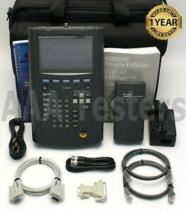 Fluke Networks 685 Enterprise Lanmeter Ethernet Token Ring Cat5 Cable Tester