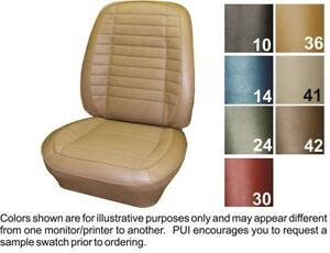 1970 Pontiac Firebird Deluxe Front Bucket Seat Covers Pui