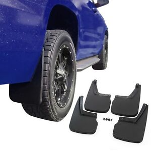Fits Chevy Tahoe 2015 2020 Mud Flaps Mud Guards Splash 4 Piece Set Front