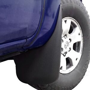 Fits Tacoma Mud Flaps 2005 2015 Mud Guards Splash Guards Molded 2 Piece Front