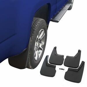 Fits Chevy Colorado Mud Flaps 15 18 Guards Splash Wo Flares 4 Piece Front