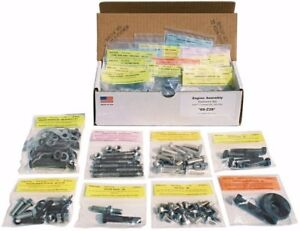 1966 1967 Nova Master Engine Bolt Kit For 283 327 With Ac