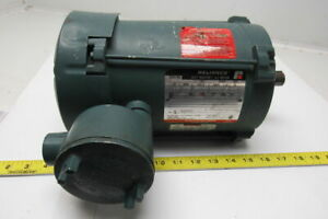 Reliance Electric B78j8672m pw 1 2hp 3ph 230 460v 1725rpm Electric Motor