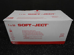 Sterile Hsw Soft Ject 60ml Luer Lock Syringes 50 bx 8300006682