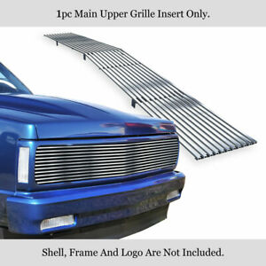Fits 1991 1993 Chevy S 10 91 94 Blazer Phantom Main Stainless Billet Grille