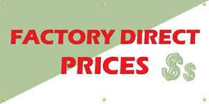 Factory Direct Prices Vinyl Display Banner With Grommets 3 hx6 w Full Color
