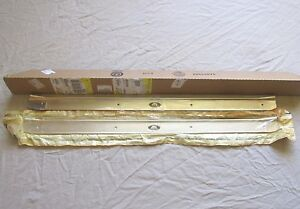 Nos 1968 72 Chevy Pontiac Olds Ss Gto 442 Door Sill Scuff Plate Gm 7753966 967