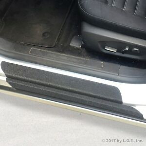 Fits 13 18 Ford Fusion 10pc Door Sill Step Protector Threshold Shield Pads Cover