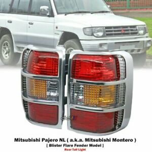 1 Pair Aftermarket Tail Light Lamp For Mitsubishi Pajero Montero Nl Wide 1998 99