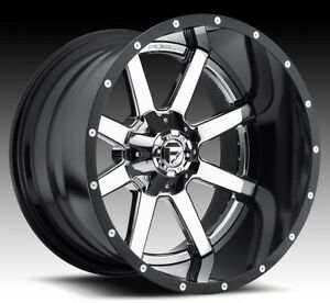 Fuel Maverick D260 20x9 8x180 Et20 Chrome Wheels Rims set Of 4
