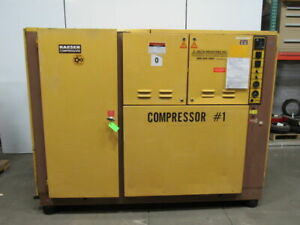 Kaeser Ds b 200 150 Hp Rotary Screw Air Compressor 750cfm 480v 192fla