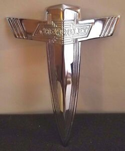 1938 Chevy Chevrolet Grille Emblem Chrome Car Pickup Truck