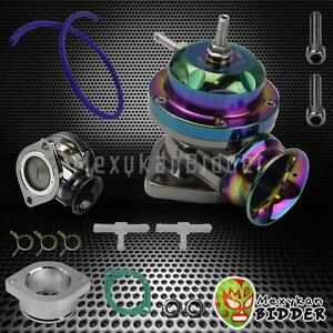 Universal Adjustable Type Rs Turbo Bov Blow Off Valve 2 5 Flange Mount Neochrom