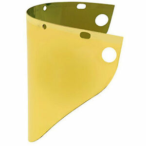 Fibre metal Face shield Window Gold 4199gdtvgy