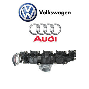 For Audi A3 Vw Beetle Golf Jetta Tdi 2 0l Intake Manifold Includes Lower Gasket