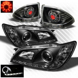 For hid Only 01 05 Is300 Black Drl Pro Headlights Led Perform Tail Light