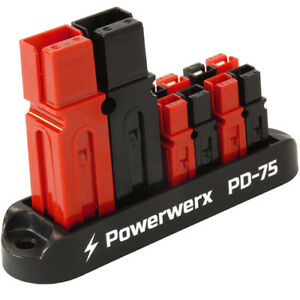 75a Input 4 Position Distribution Block For 15 30 45a Anderson Powerpoles