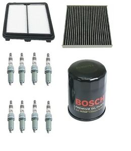 Mann Cabin Air Bosch Oil Opparts Air Filters Plugs Kit For Honda Civic Hybrid