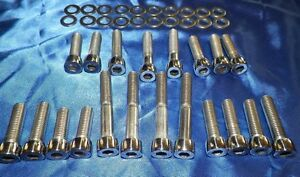Chevy Tpi Slp Intake Runner Bolts Stainless Polished Allen Head