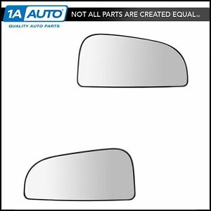 Oem Mirror Glass Convex Power Outer Lh Rh Pair For Dodge Ram Tow Package New