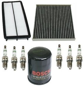 For Honda Accord 3 0 Kit Filters Opparts Air Mann Cabin Air Bosch Oil Plugs