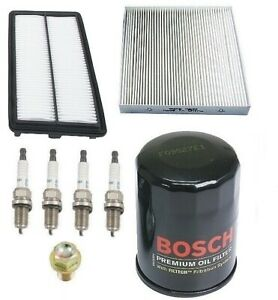 For Honda Civic 06 10 Si Kit Bosch Oil Opparts Air Filters Oil Drain Plug Plugs