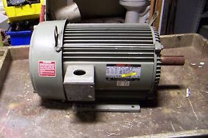 Us Electrical 5 Hp Electric Ac Motor 230 460 Vac 1165 Rpm 215t Frame 3 Phase