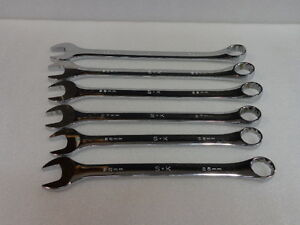 Sk Tools 12 Point Combo Metric Wrench Choose Size Great Cond im bin 10