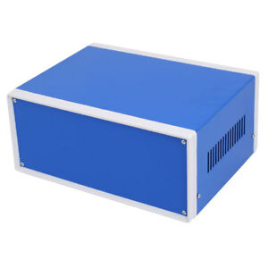 250mmx190mmx110mm Electronic Project Junction Box Enclosure Case Blue