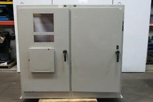 Hoffman A 72xm7818ftc 314lc Electrical Enclosure Cabinet 2 Door W Disconnect